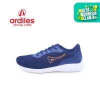 Ardiles Men Aragats Sepatu Running - Biru Navy