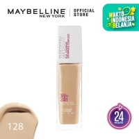Maybelline Superstay Liquid Foundation Make Up - 128 Warm Nude
