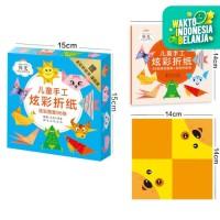 Mainan origami anak, Mainan origami lipat kertas dengan petunjuk anak