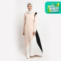 Baju Gamis Wanita Muslim Terbaru 3 Ways - Dress Jumbo Busui Maxi