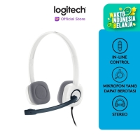 Logitech H150 Stereo Headset - Cloud White