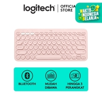 Logitech K380 Keyboard Wireless Multi Device - Rose