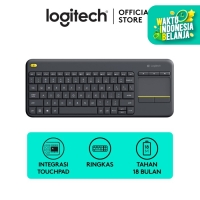 Logitech K400 Plus Keyboard Wireless - Black