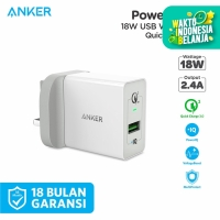 Wall Charger Anker PowerPort+ 1 Quick Charge 3.0 Black - A2013