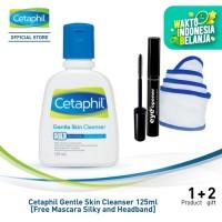 Cetaphil Gentle Skin Cleanser 125ml [Free Mascara Silky and Headband]