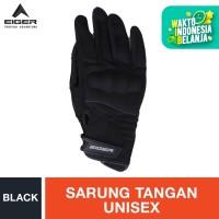 Eiger Riding Knuckl Full JRP Gloves - Black L
