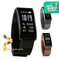 Smart Watch Jam Tangan Smart Band X3 Heart Rate Mi Band Xiaomi Besi