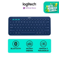 [FS] Logitech K380 Keyboard Wireless Multi Device - Blue