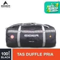 Eiger Nabau 28 Gunung Duffle Bag 100L - Black