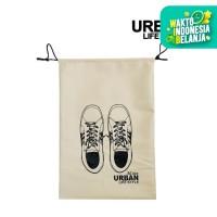 Shoes Bag Tas Serut Barang Sandal Sepatu Waterproof Urban lifestyle