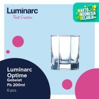 Luminarc Drinkware Octime - Gobelet Fb 200ml - 6pcs