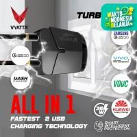 VYATTA TURBO X2 DUAL USB PORT CHARGER 36W - QC 3.0,PD,Dual Engine,VOOC
