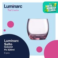 Luminarc Drinkware Salto - Gobelet Fb 320ml - 6pcs - Pink