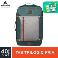 Eiger 1989 Borderpass Cabin Trilogic Bag 40L - Olive