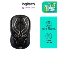 [FS] Logitech M238 Marvel Collection Wireless Mouse - BLACK PANTHER