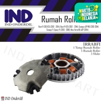 Rumah Roller-Roler Lengkap-Tutup-Slider Beat FI/Vario 110 FI-eSP 2014