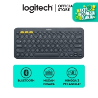 Logitech K380 Bluetooth Keyboard Black For Windows, Mac, Android, iPad