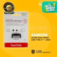 Sandisk Flashdisk 32GB Ultra Dual Drive USB Type C OTG - SDDDC2-032G