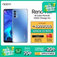 OPPO Reno4 Smartphone 8GB/128GB (Garansi Resmi)