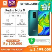 XiaoMi Redmi Note 9 [4GB + 64GB/Garansi offical] - Forest Green