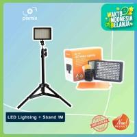 Video LED Taffware Lighting Kamera 160 LED + Stand 1M