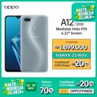 OPPO A12 Smartphone 3GB/32GB (Garansi Resmi)