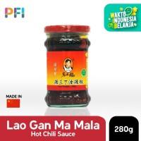 Hot Chili Sauce Lao Gan Ma 280g Mala Sauce