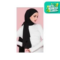 Hijab Ellysha BELLA EXCLUSIVE DRAPPERY SHAWL BLACK