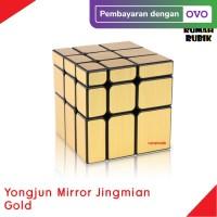 Rubik Mirror 3x3 Yongjun Jingmian GOLD / Rumah Rubik