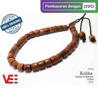 VeE Gelang Tasbih Terapi Kesehatan Pria Wanita Kayu Kokka Kaukah- V13