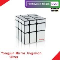 Rubik Mirror 3x3 Yongjun Jingmian SILVER / Rubik Murah