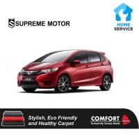 Karpet Mobil Premium Comfort set non bagasi Honda Jazz