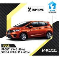 Kaca Film Mobil Full V-Kool Honda Jazz VK40 + X15