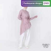 Tunik Baju Atasan Blouse Amelia - Emikoawa Terbaru Premium Free Tali