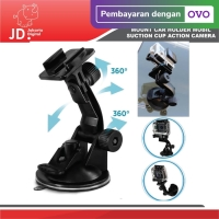 Mount Car Holder Mobil Action Camera Suction Cup Xiaomi Yi GoPro