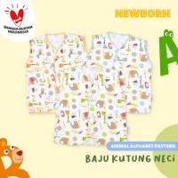 Baju Bayi Kutung Neci-Blessing Babywears-Alphabet(Size:NB-Set 3 pcs)