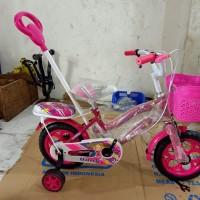Sepeda Anak Dorongan Stir Unity 12