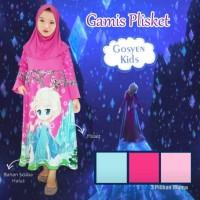 Gamis Plisket Plus Hijab Size 4,6,8 bisa eceran