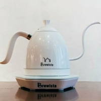 PROMO Brewista - Gooseneck Variable Kettle Electric 600ml full white