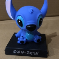 Pajangan Mobil bobble Head model Stitch