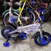 Sepeda Anak BMX Mazara 12 Ban Jumbo Roda Samping Nyala