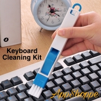 Kuas Portable 2in1 Brush CLEANING KIT Keyboard DeskTop Dust Cleaner