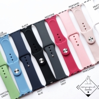 Apple watch strap silicone 1 2 3 4 38mm 40mm 42mm silikon simple polos