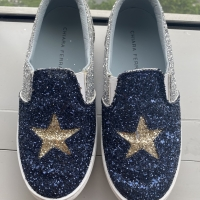 Sepatu sneaker wanita CHIARA FERRAGNI ASLI, size 35, preloved
