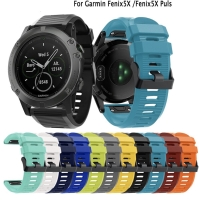 TALI JAM STRAP QUICK EASY FIT RUBBER SILICONE BAND GARMIN FENIX 5X 6X