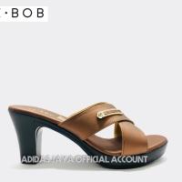 Sandal Be-Bob Hi Heels Lizzy 006 Coklat Original product
