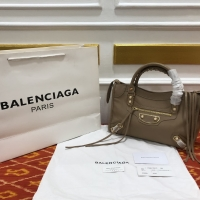 Bag BALENCIAGA edge30cm brown