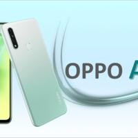 OPPO A31 RAM 4/128gb FANTASY WHITE N BLACK RESMI