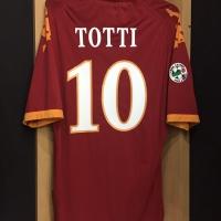 Original Jersey Roma 2009-10 Totti Used