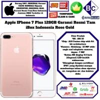 Apple IPhone 7 Plus 128GB 128 GB Garansi Resmi iBox Indonesia - Rose